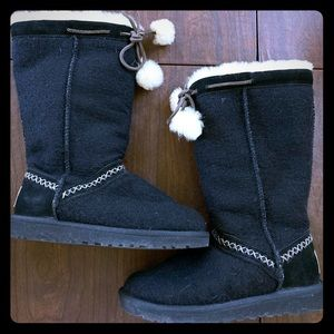 UGG Boots Classic Tall Wool Knit